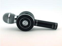 Беспроводной караоке микрофон WSTER WS-668 Black (200195)