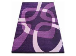 Ковер Лущув FOCUS - F242 160x220 см квадрат Фиолетовый (GR493)