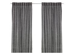 Шторы IKEA AINA 300 х 145 см Темно-серый (702.809.12)