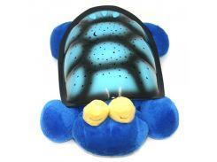 Музыкальный ночник-проектор Snail Twilight с USB-кабелем Blue (200209)