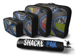 Дорожный органайзер для путешествий Shacke Pack 5 шт Черный с синим (SP002)