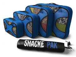 Дорожный органайзер для путешествий Shacke Pack 5 шт Синий с черным (SP003)