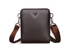 Мужская сумка Polo Vicuna Bag Коричневый (KD-59033)
