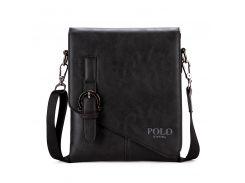 Мужская сумка Bag POLO Vicuna Черный (KD-8838)