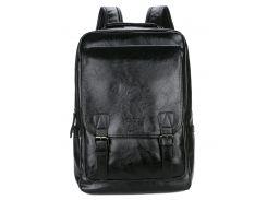 Мужской рюкзак POLO Vicuna Черный (KD-17382)