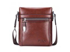 Мужская сумка POLO Vicuna Bag Коричневый (KD-71189)