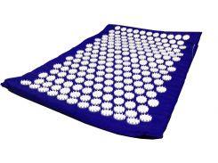 Массажный коврик Onhillsport Релакс аппликатор Кузнецова 55 х 40 см Синий (MS-1251-2)