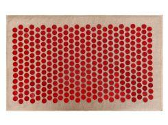 Массажный коврик Onhillsport Lounge Maxi аппликатор Кузнецова 80 х 50 см Красный (LS-1000-1)