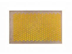 Массажный коврик Onhillsport Lounge Maxi аппликатор Кузнецова 80 х 50 см Желтый (LS-1000-3)