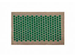 Массажный коврик Onhillsport Lounge Medium аппликатор Кузнецова 68 х 42 см Зеленый (LS-1001-2)