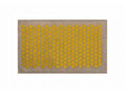 Массажный коврик Onhillsport Lounge Medium аппликатор Кузнецова 68 х 42 см Желтый (LS-1001-3)