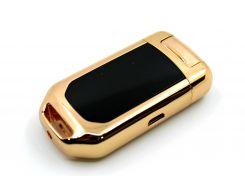 USB-зажигалка-брелок Золотистый (200503)
