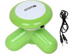 Вибромассажер USB электронный массажер XY3199 Зеленый (200519)