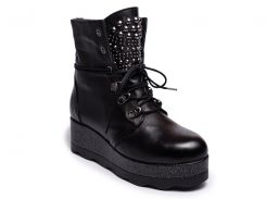 Ботинки ALPINO 18KB-1061V1 36 Черные