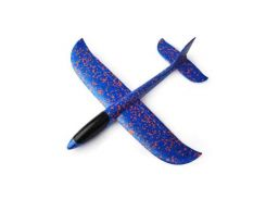 Детский самолет-планер 48х46 см Синий (6755-1)