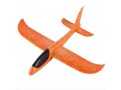 Детский самолет-планер 48х46 см Оранжевый (6755-2)