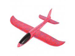 Детский самолет-планер 48х46 см Красный (6755-3)