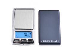 Весы Scales 6221 mini 200 г Черный с серебристым (KD-2506S126)
