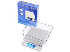Весы Scales 6295 2 кг Серебристый (KD-2515S140)