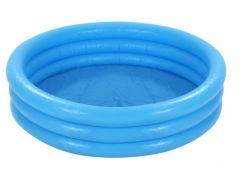 Бассейн детский надувной Intex 59416 114х25 см Голубой