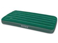 Матрас надувной Intex 66927 99х191x22 см Зеленый