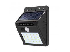 Уличный LED фонарь Solar Motion Sensor Light На солнечной батарее с датчиком движения 20 Led (200587)