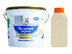 Наливной жидкий акрил Plastall Premium для реставрации ванны 1.5 м 3 л (Nal_acr_Pl_prem_150)