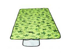 Коврик для пикника Supretto раскладной 145х80 см Зеленый (5534-0002)