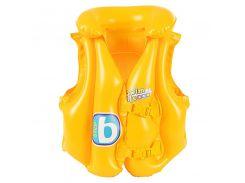 Детский надувной жилет для плаванья Bestway Желтый (32034R)