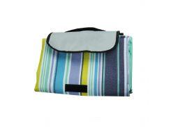 Пляжный коврик Supretto Антипесок 145 х 180 см Разноцветный (5533-0003)