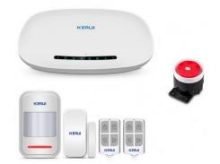 Комплект GSM сигнализации Kerui alarm G1 Start Белый (g1 start)