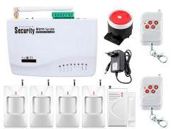 Комплект сигнализации Kerui G01 для 3-комнатной квартиры Белый (g01 - 3)