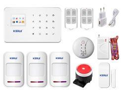 Комплект сигнализации Kerui G18 Extra для 2-комнатной квартиры Белый (g18 pro 2)