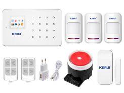 Комплект сигнализации Kerui G18 для 2-комнатной квартиры Белый (g18 - 2)