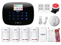 Комплект сигнализации Kerui G19 Pro для 3-комнатной квартиры Белый (g19 pro 3)