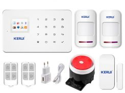 Комплект сигнализации Kerui G18 для 1-комнатной квартиры Белый (g18 - 1)