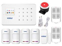 Комплект сигнализации Kerui G18 для 3-комнатной квартиры Белый (g18 - 3)