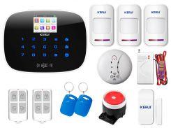 Комплект сигнализации Kerui G19 Pro для 2-комнатной квартиры Белый (g19 pro 2)