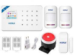 Комплект сигнализации Kerui Wi-Fi W18 для 1-комнатной квартиры Белый (w18 - 1)