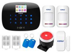 Комплект сигнализации Kerui G19 для 1-комнатной квартиры Белый (g19 - 1)