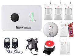 Комплект сигнализации Kerui alarm G10c Pro для 2-комнатной квартиры Белый (g10c pro2)