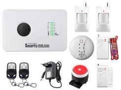 Комплект сигнализации Kerui alarm G10c Pro для 1-комнатной квартиры Белый (g10c pro1)