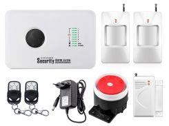 Комплект сигнализации Kerui alarm G10c для 1-комнатной квартиры Белый (g10 c 1)