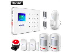 Комплект сигнализации Kerui alarm G18 plus с умной радиорозеткой Белый (g18 rozetka)