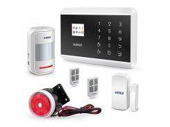 Комплект сигнализации Kerui alarm 8218G Белый (8218 g)