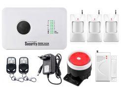 Комплект сигнализации Kerui alarm G10c для 2-комнатной квартиры Белый (g10c 2)