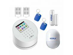 Комплект сигнализации Kerui alarm W2 с Wi-Fi Белый (w2 wifi)