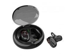 Бездротові навушники SUNROZ V5 TWS Bluetooth 5.0 Чорний (SUN3194)