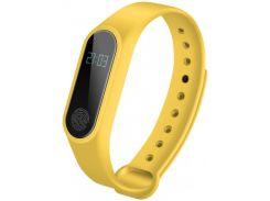 Фитнес-браслет Health M2 USB Желтый (KD-51944S126)