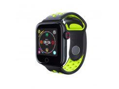 Фитнес-браслет SENOIX Z7-Fit Original Черно-зеленый (S54Z7G32RON19)